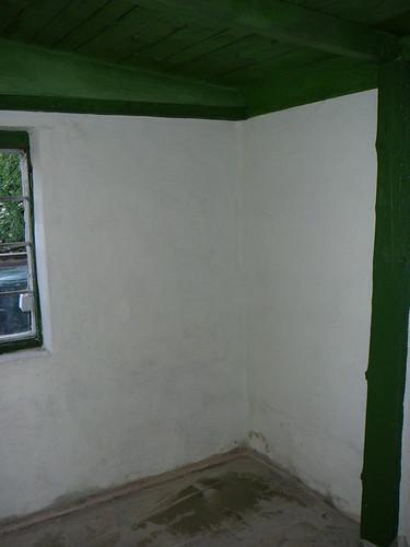 Werkstattraum mit neuem Anstrich