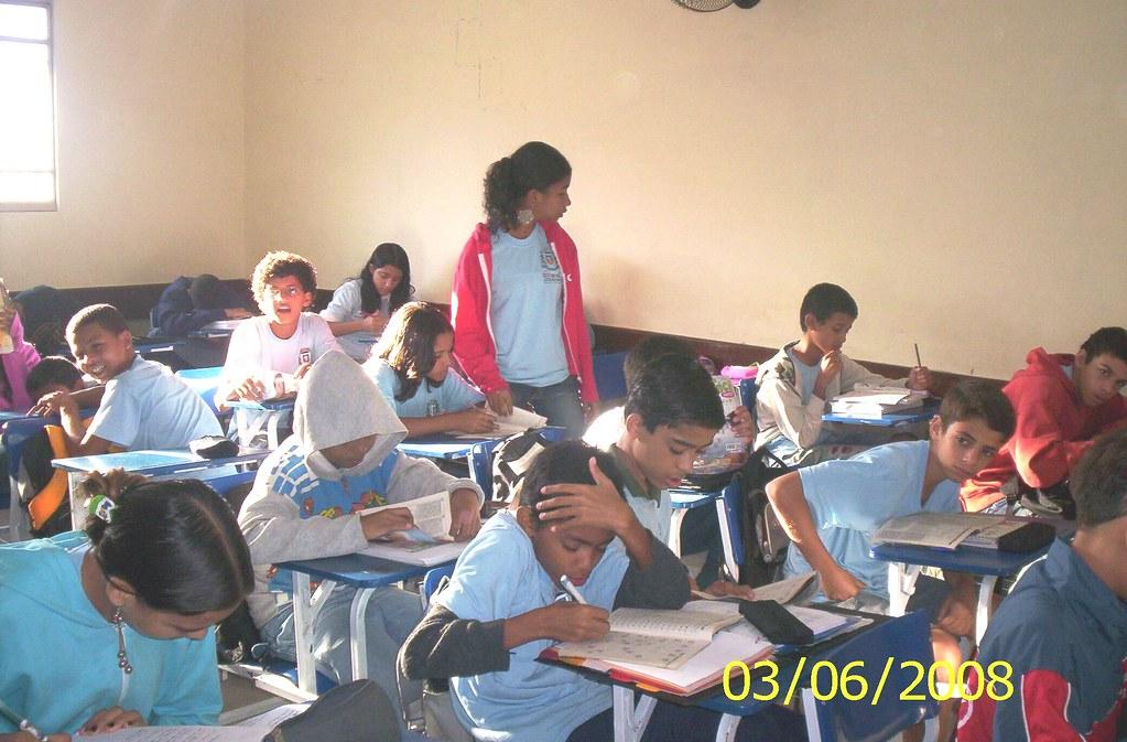 Coquetel na escola