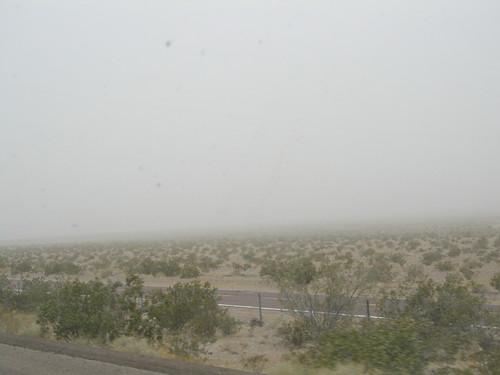Mojave Desert dust storm