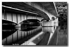 the Bridge (arctis) Tags: blackandwhite bw white black water dark switzerland bn sw 2008 bwemotions digitalcameraclub bwdreams platinumphoto aplusphoto diamondclassphotographer canoneos40d theperfectphotographer bwartaward