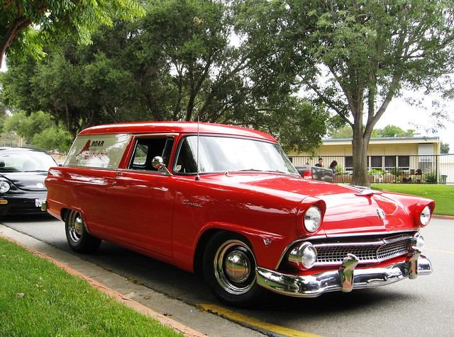 ford 1955 sedan delivery courier fallbrook