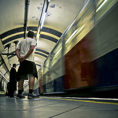 30% of London looks like this - London trip (9) (Voetmann) Tags: reflection london me train ego underground metro tube movingtrain voetmann