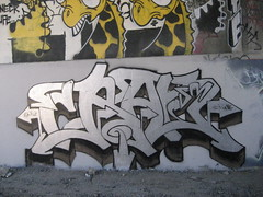 CRAN (TheLive@ction) Tags: color silver graffiti sm freeway piece bomb esp altamont cran smk ceks
