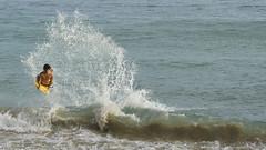 beach boogie #2 (Mark Ramelb Photography) Tags: beach waikiki skimboard