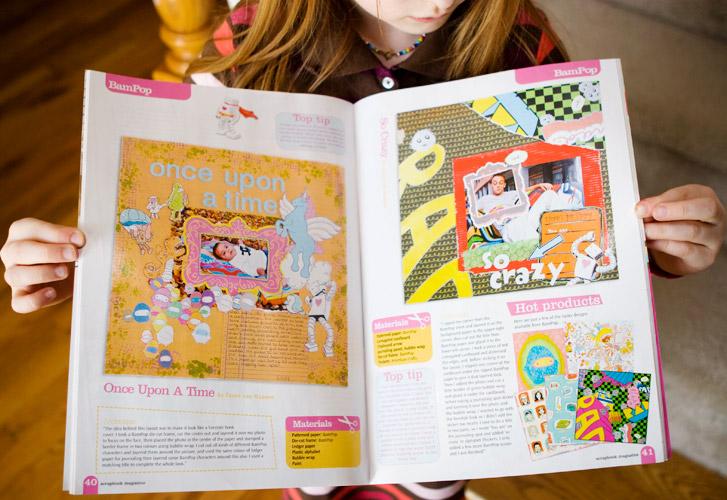 scrapbook magazine p.40-41