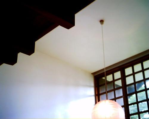 【写真】VQ1005で撮影した前川國男邸のリビング