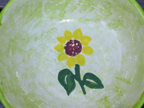 Inside of Birthday bowl
