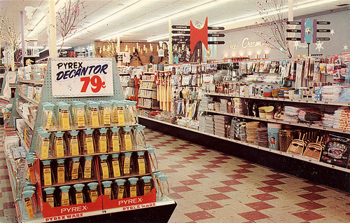 Piggly Wiggly Supermarket, 1950's