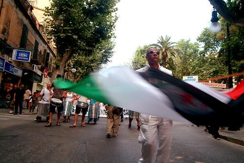 Manifestació per la Independència del Sahara 2008