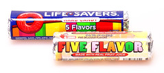 Fox's Five Flavor & LifeSavers 5 Flavors