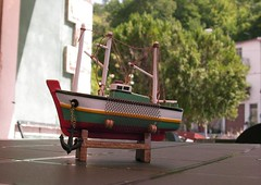 Nave a secco (alfiererosso) Tags: boot boat miniature barca barco ship nave miniatura shiff modellismo modelismo modelism