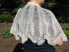 Wedding Cape Side View