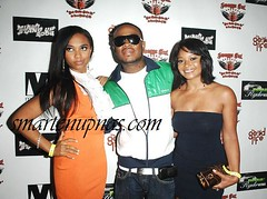 Teairra Mari and one of those pretty ricky niggas