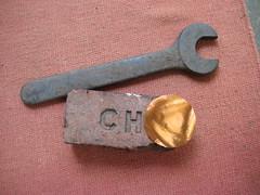 Unhalfbricked (wombatbiker) Tags: sculpture brick wrench chrishill