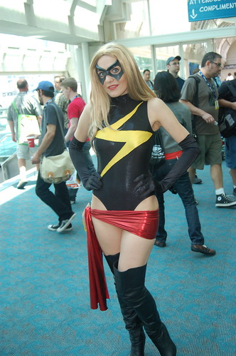 comic con 2008: Ms. Marvel