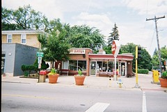 The Park Ridge Dairy Queen. Located at 2 W Devon Avenue in Park Ridge Illinois. July 2008.