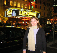 NYC 2002-6 (freelulu) Tags: nyc newyorkcity november 2002 newyork manhattan lateshow davidletterman lateshowwithdavidletterman sarina