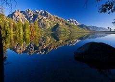 reflection - Jenny Lake - Grand Teton NP - Jackson Hole Wyoming  01 - Explore! (Tucapel) Tags: park morning light reflections photography gallery day hole fine grand jackson clear national wyoming teton reflexions the naturesfinest blueribbonwinner flickrsbest golddragon of ultimateshot diamondclassphotographer flickrdiamond overtheexcellence goldstaraward absolutelystunningscapes damniwishidtakenthat oraclex