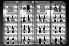 bottles (heavenuphere) Tags: bw reflection shop ferry gteborg bottle wine bottles display free line tax kiel stena stenaline