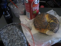 sock and new york bagel