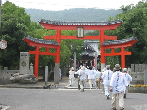 Ohenro,白峰神社