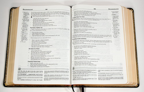 New Geneva Study Bible NKJV - Spread