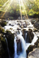 Sunbeam Waterfall