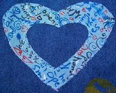 Applique close-up
