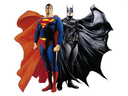 batman y superman por alex ross por ti.