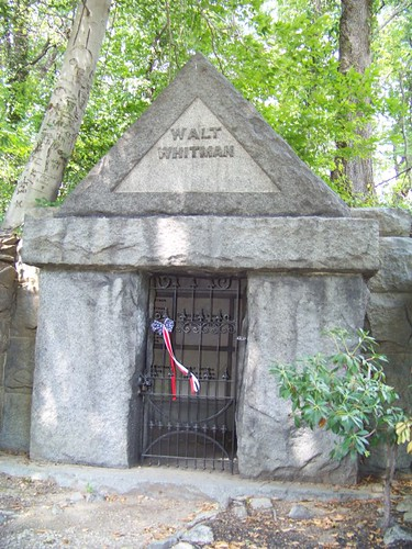 Walt Whitman's Tomb