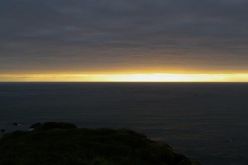 Faroe Islands - evening on Mykines island