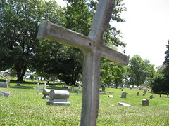 Bent Cross 2 (Richard O Jones) Tags: cemetery angel hands iconography