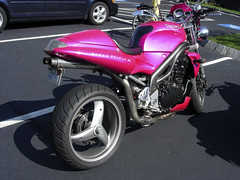 Pink Triumph Speed Triple (RichSPK) Tags: pink photo unfound triumph speedtriple