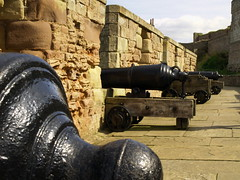 Cannons at Bamburgh Castle (ladywolf2805) Tags: northumberland cannons bamburghcastle