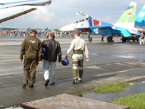командир Русских витязей гвардии полковник Игорь Ткаченко