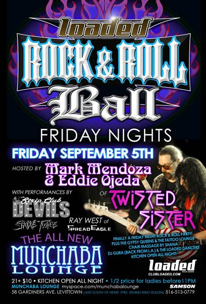 Twisted Sister Members To Host 'Rock & Roll Ball' In Levittown ...