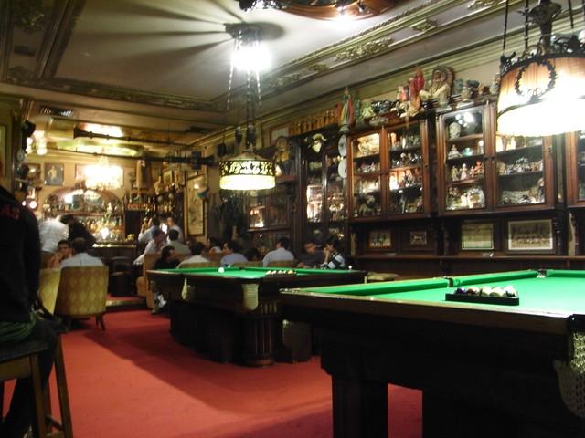 Salón de Billar en el Pavilhão Chinês