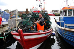 Lobster Lobster, Fish , Fish (michael gant) Tags: boat fishing headland hartlepool buoyant