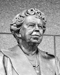 Eleanor Roosevelt, First Amongst the First Ladies (Tony Fischer Photography) Tags: world blackandwhite bw whitehouse roosevelt un international unitednations hero eleanor greatdepression equalrights fdr global firstlady worldwartwo wwll educator ysplixblack peacewomensrights