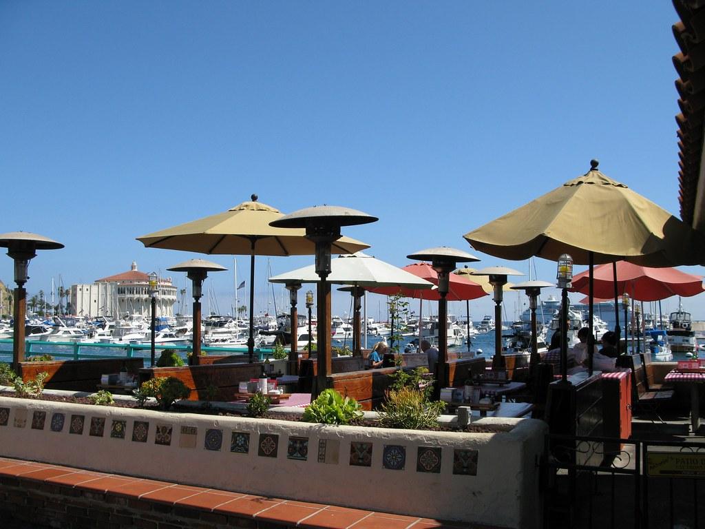 Restaurant Patio in Avalon