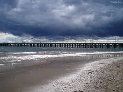 (anka.anka28) Tags: sea sky cloud clouds pier poland polska gdynia orłowo pomorze