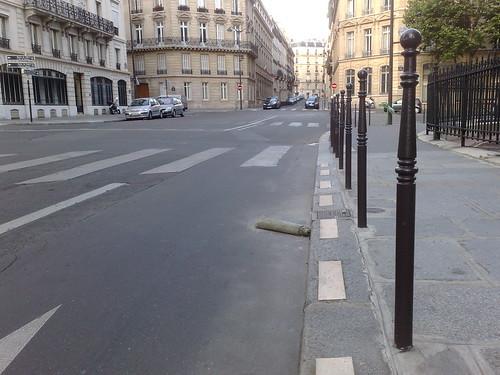 Carpet on a Parisian street