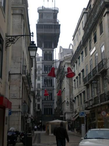 Lisbon - Santa Justa Elevator