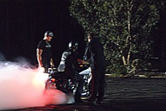 burnout KING! (2r0xf0x deLuXe) Tags: party smoke harley ute harleydavidson burnout bogan joshmarshall burnoutcompetition kevinbrewer jayjambanis burnoutking poppedthetyre andthecrowdwentwild