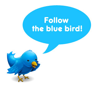 Follow the blue bird! by MissBlythe, on Flickr