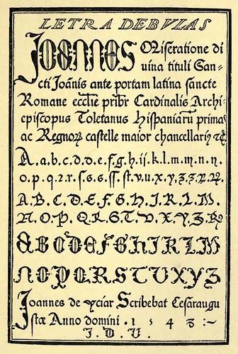 35- Letra de Cancilleria Papal- Juan de Icíar en Recopilacion Subtilissima 1548