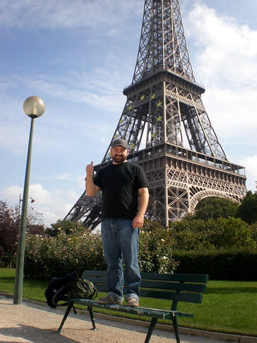 Me and the Eiffel Tower