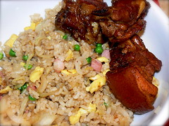 Pork Spareribs and Fried Rice
