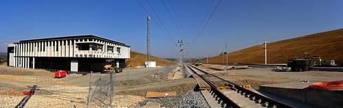 Tête Nord Tunnel LGV Perpignan-Figueres Poste central de Commande