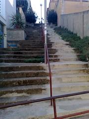 Escala del carrer Barceloneta